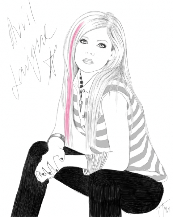 Avril Lavigne par MysteryDoll